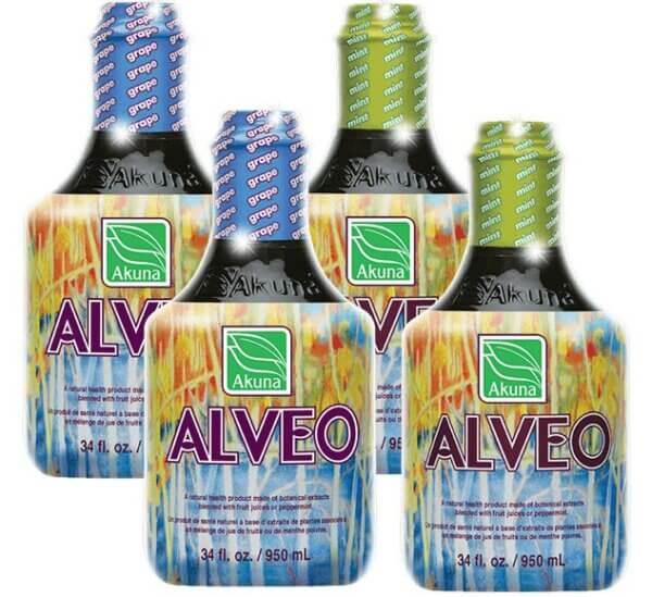 Alveo Mix Grape + Mint